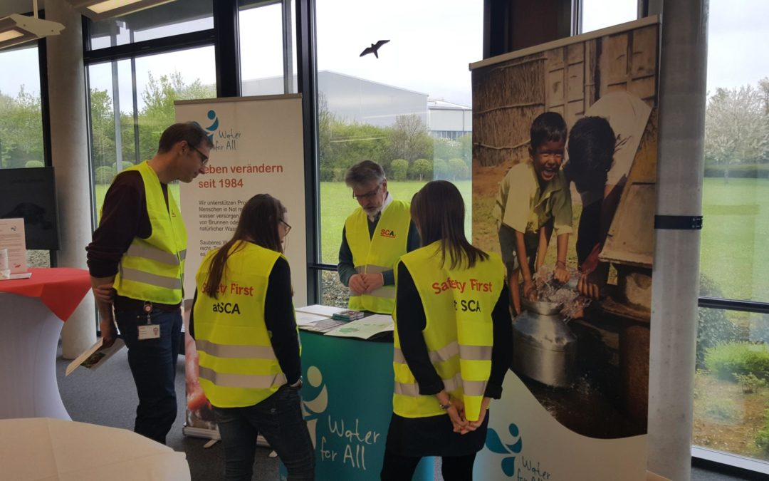 Water for All am Safety Day bei SCA