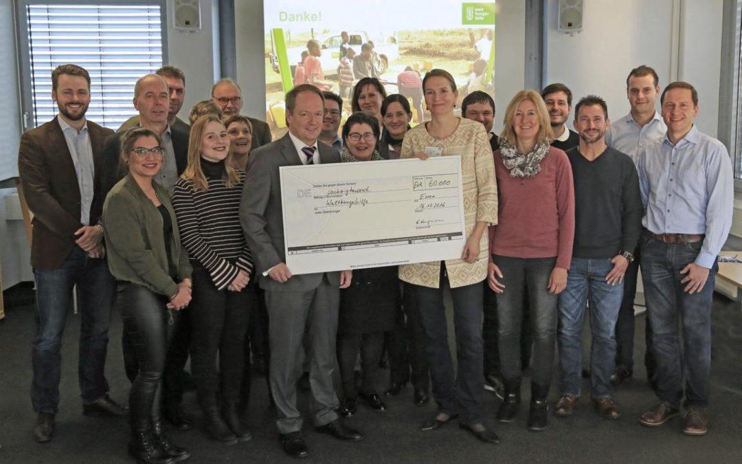 60.000 Euro für sauberes Trinkwasser in Kenia